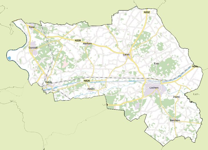 Lochem In Cijfers Gemeente Lochem